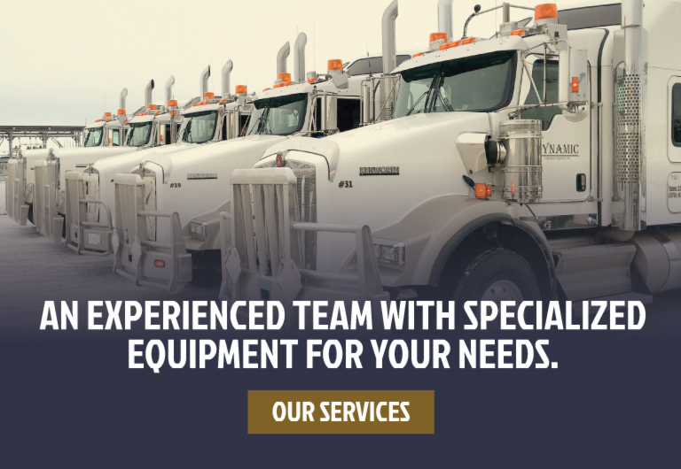 An experienced team with specialized equipment for your needs.