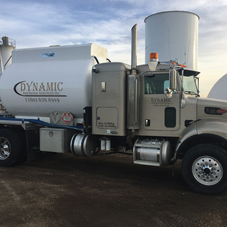 Dynamic Energy Pressure truck